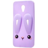 Силиконовая накладка 3D Child Bunny для Meizu M2 / M2 mini
