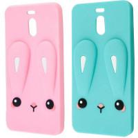 Силиконовая накладка 3D Child Bunny для Meizu M6 Note