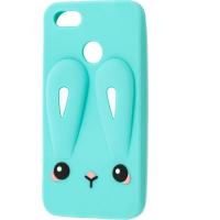 Силиконовая накладка 3D Child Bunny для Xiaomi Redmi 6