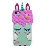"Силиконовая накладка 3D Little Unicorn для Apple iPhone 6 / 6s / 7 / 8 / SE (2020) (4.7"")"