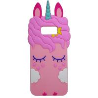 Силиконовая накладка 3D Little Unicorn для Samsung G950 Galaxy S8