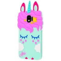 Купить Силиконовая накладка 3D Little Pony для Samsung Galaxy J2 Pro (2018) (J250F), Epik
