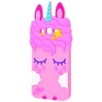 Силиконовая накладка 3D Little Unicorn для Samsung J530 Galaxy J5 (2017)