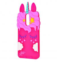 Силиконовая накладка 3D Little Unicorn для Xiaomi Redmi Y1