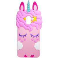 Силiконова накладка 3D Little Unicorn для Samsung Galaxy A8+ (2018) (A730)