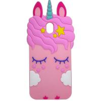 Силiконова накладка 3D Little Unicorn для Samsung Galaxy J7 (2017) (J730)