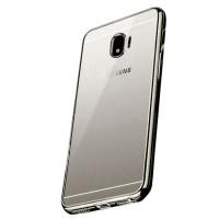 Купить Прозрачный силиконовый чехол для Samsung Galaxy J2 Pro (2018) (J250F) с глянцевой окантовкой, Epik