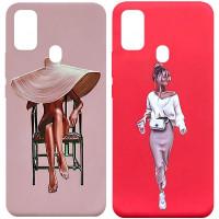 Силиконовый чехол Art Series для Samsung Galaxy M30s / M21