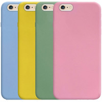 """Силиконовый чехол Candy для Apple iPhone 6/6s (4.7"""")"""