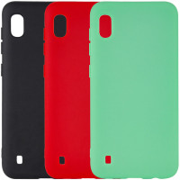 Чехол Silicone Cover with Magnetic для Samsung Galaxy A10 (A105F)