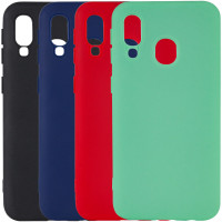 Чохол Silicone Cover with Magnetic для Samsung Galaxy A40 (A405F)
