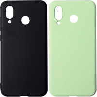 Чехол Silicone Cover with Magnetic для Huawei Y9 Prime (2019)