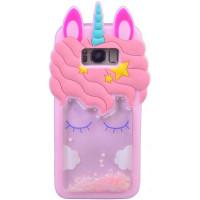 Силиконовый чехол Unicorn 3D для Samsung G950 Galaxy S8