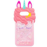 Силиконовый чехол Unicorn 3D для Samsung Galaxy S10+