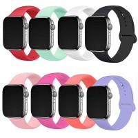 Силиконовый ремешок для Apple Watch Sport Band 42 / 44 (M) 2pcs