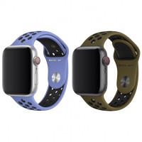 Силіконовий ремінець Sport Nike+ для Apple watch 38mm / 40mm