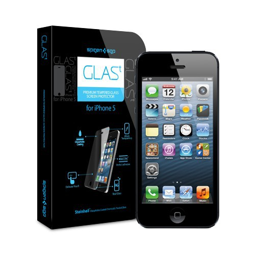 SGP Screen Protector GLAS.t Premium Tempered Glass Series для Apple iPhone 5/5S/5C