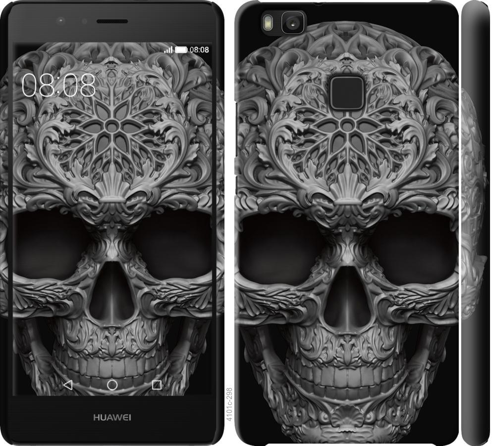 Чехол на Huawei P9 Lite skull-ornament