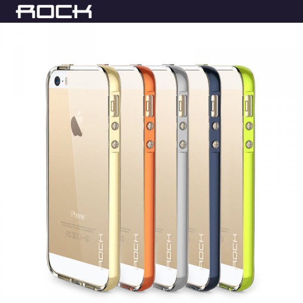 Фото Светящийся TPU чехол ROCK Tube Series для Apple iPhone 5/5S/SE на itsell.ua