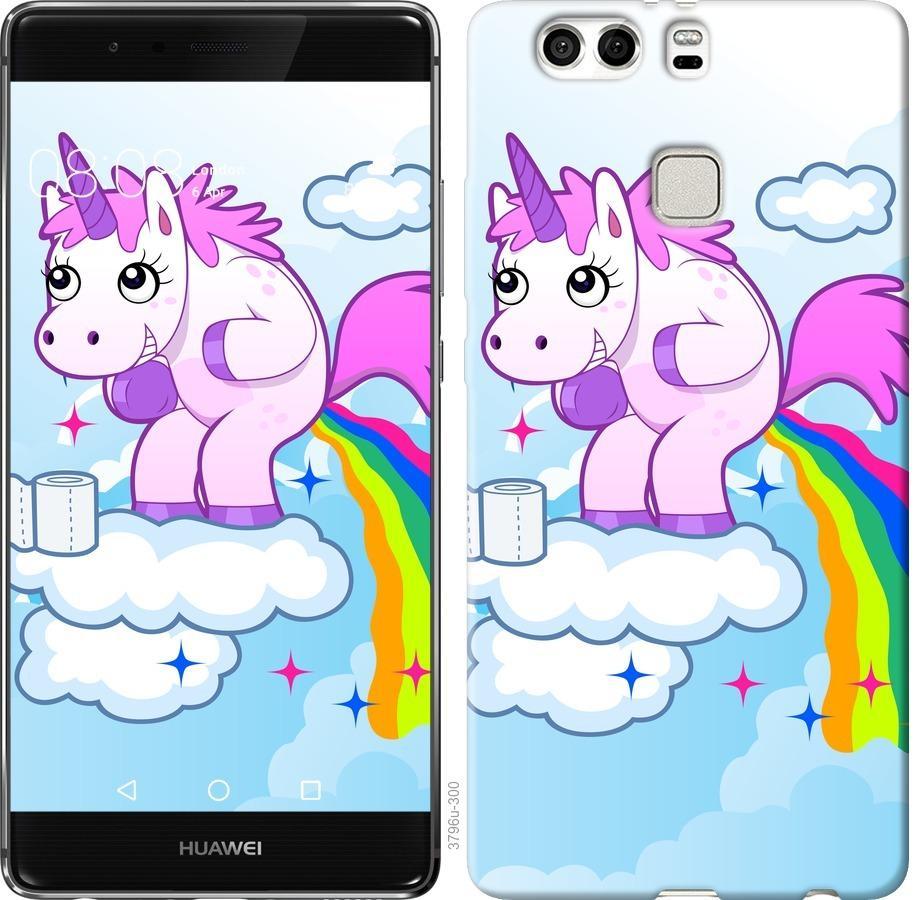 Чехол на Huawei P9 Plus Единорожка