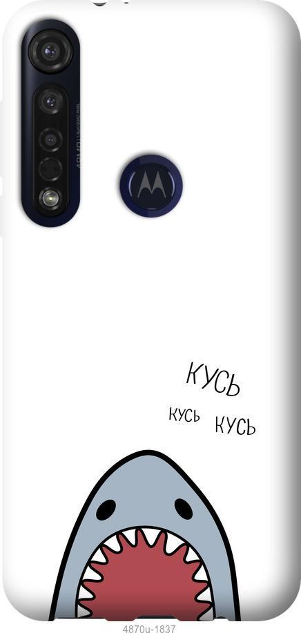 Чехол на Motorola G8 Plus Акула