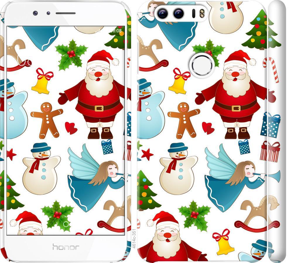 Чехол на Huawei Honor 8 Новогодний 1