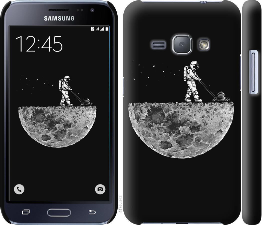 Чехол на Samsung Galaxy J1 (2016) Duos J120H Moon in dark