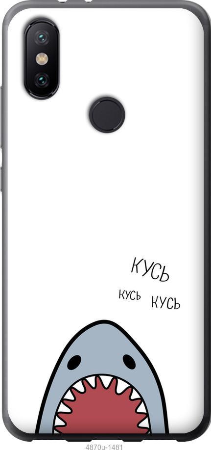 Чехол на Xiaomi Mi Mix 3 Акула