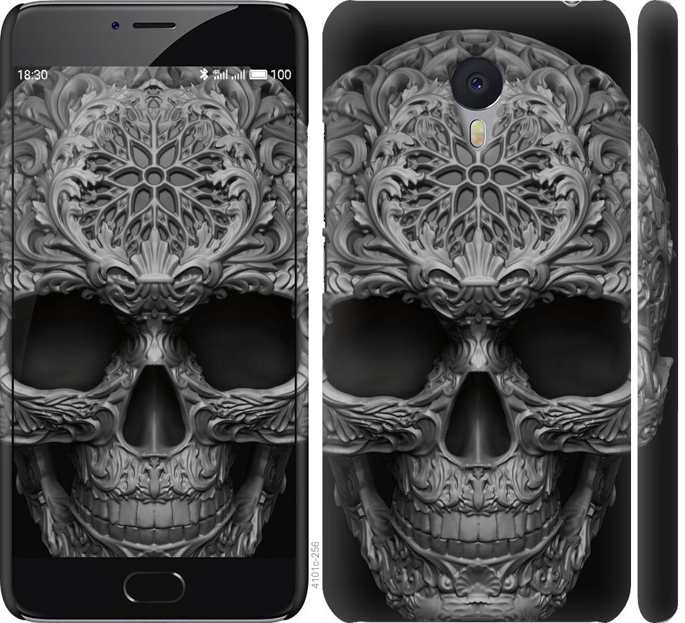 Чехол на Meizu M3 Note skull-ornament
