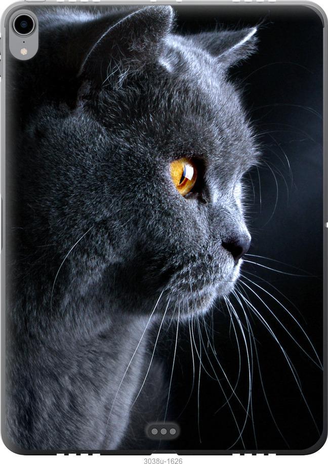 Чехол на iPad Pro 11 2018 Красивый кот