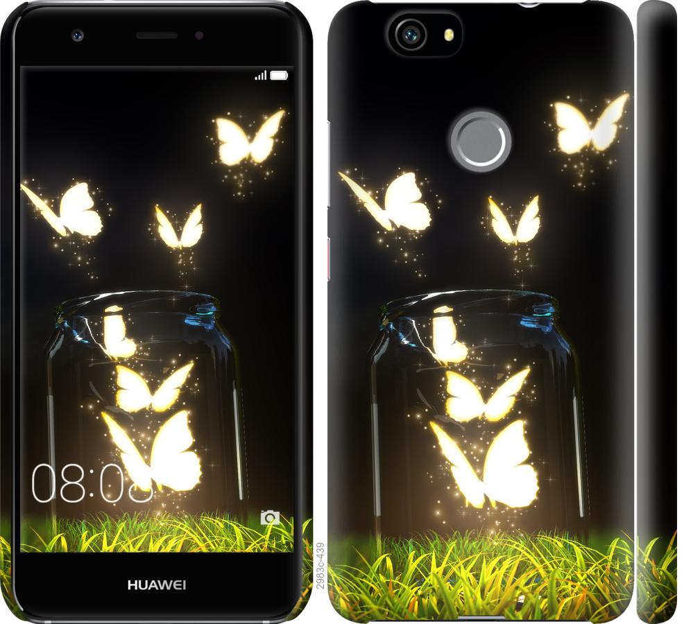 Чехол на Huawei Nova Бабочки