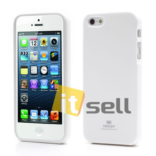 Фото TPU чехол Mercury Jelly Color series для Apple iPhone 5/5S/SE (10 цветов) на itsell.ua