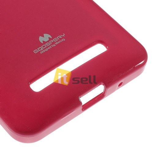 TPU чехол Mercury Jelly Color series для Asus Zenfone 5 (A501CG) Малиновый на itsell.ua