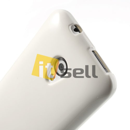 TPU чехол Mercury Jelly Color series для HTC Desire 700 Белый на itsell.ua
