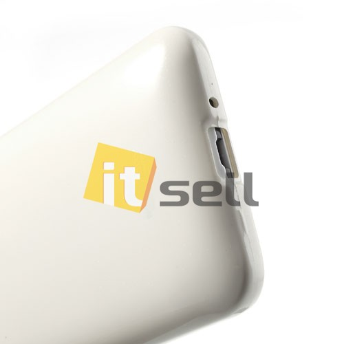 Купить TPU чехол Mercury Jelly Color series для HTC Desire 700 Белый на itsell.ua