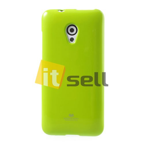 Фото TPU чехол Mercury Jelly Color series для HTC Desire 700 Зеленый на itsell.ua