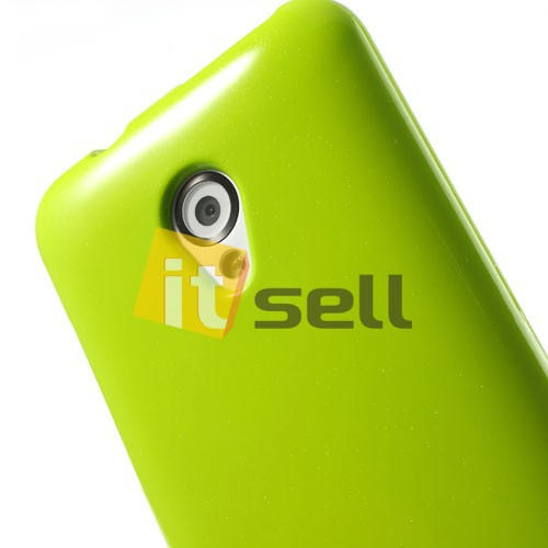 TPU чехол Mercury Jelly Color series для HTC Desire 700 Зеленый на itsell.ua