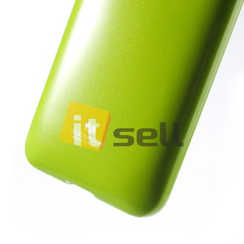 Купить TPU чехол Mercury Jelly Color series для HTC Desire 700 Зеленый на itsell.ua