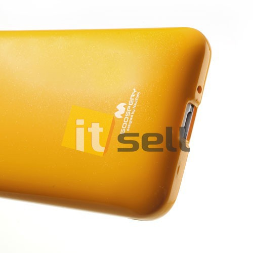 TPU чехол Mercury Jelly Color series для HTC Desire 700 Желтый на itsell.ua