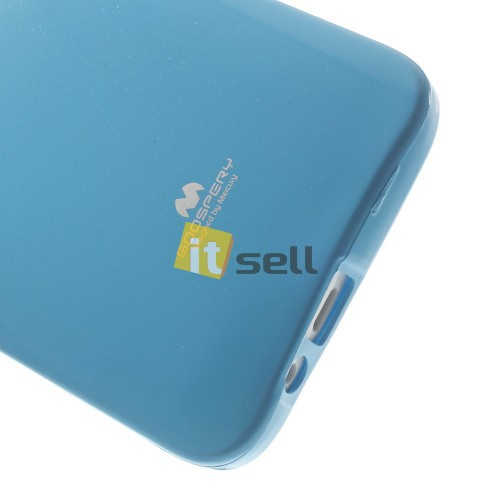 TPU чехол Mercury Jelly Color series для HTC One / E8 Голубой на itsell.ua
