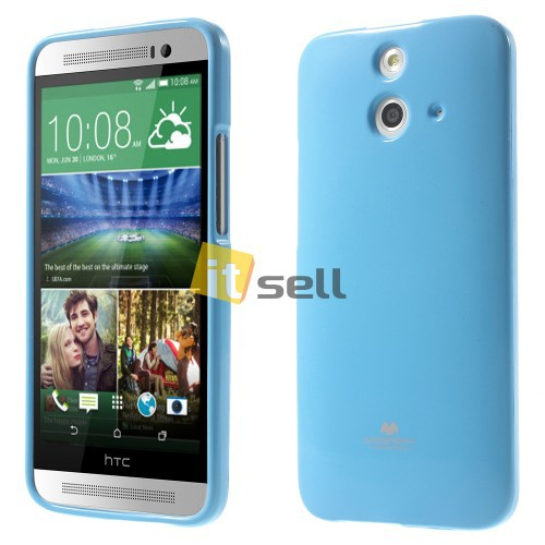 Купить TPU чехол Mercury Jelly Color series для HTC One / E8 за 39 грн