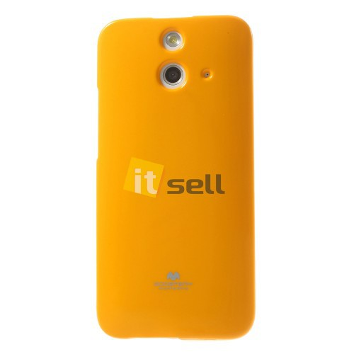 Фото TPU чехол Mercury Jelly Color series для HTC One / E8 Оранжевый на itsell.ua