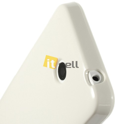 TPU чехол Mercury Jelly Color series для Microsoft Lumia 630 Белый на itsell.ua