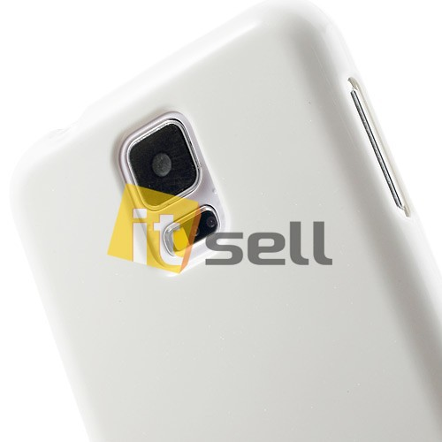 Купить TPU чехол Mercury Jelly Color series для Samsung G900 Galaxy S5  Белый на itsell.ua