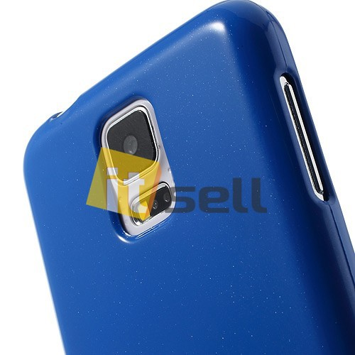 Купить TPU чехол Mercury Jelly Color series для Samsung G900 Galaxy S5  Синий на itsell.ua