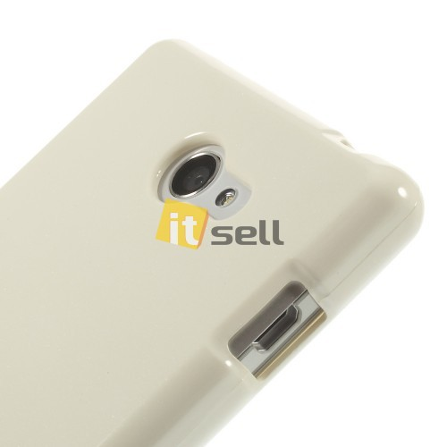 Фото TPU чехол Mercury Jelly Color series для Sony Xperia M2  Белый в магазине itsell.ua
