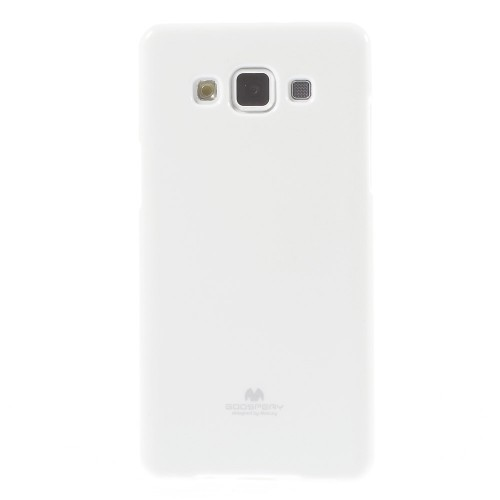TPU чехол Mercury Jelly Color series для Samsung Galaxy A5 (A500H/A500F) Белый на itsell.ua