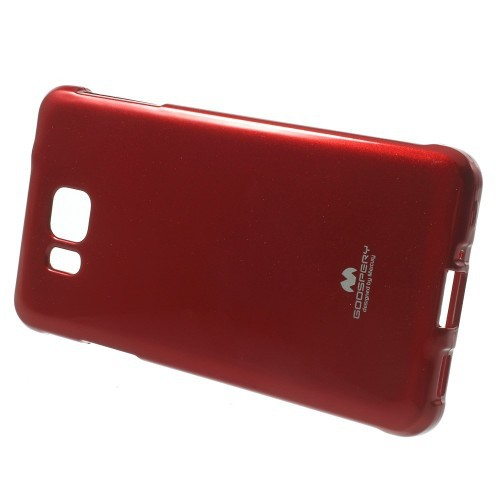 Фото TPU чехол Mercury Jelly Color series для Samsung G850F Galaxy Alpha Красный на itsell.ua
