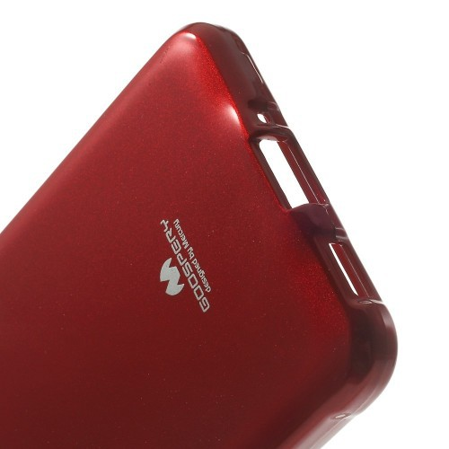 Фото TPU чехол Mercury Jelly Color series для Samsung G850F Galaxy Alpha Красный в магазине itsell.ua