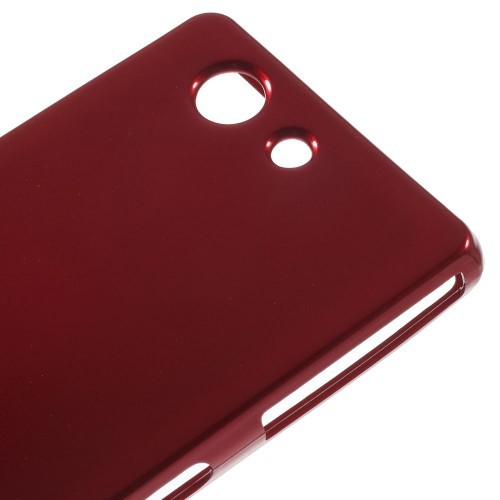 TPU чехол Mercury Jelly Color series для Sony Xperia Z3 Compact Красный в магазине itsell.ua